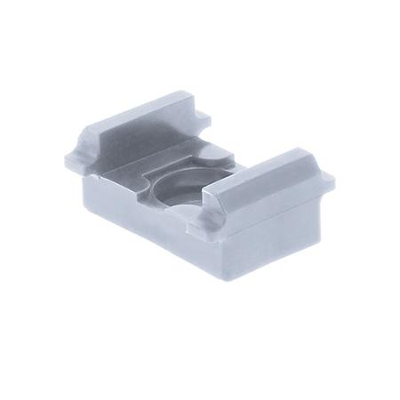 Pfosten Zubehör - Auflagebock (flach) hellgrau