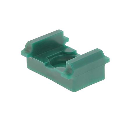 Pfosten Zubehör - Auflagebock (flach) moosgrün