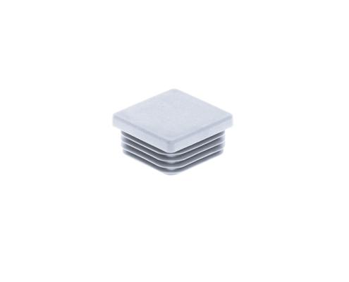 Pfosten Zubehör - Kunststoff Pfostenkappe 40x40 hellgrau