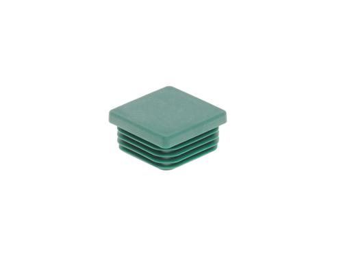 Pfosten Zubehör - Kunststoff Pfostenkappe 40x40 moosgrün