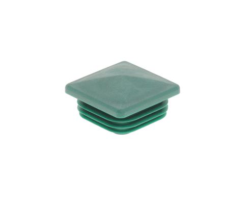 Pfosten Zubehör - Kunststoff Pfostenkappe 60x60 moosgrün