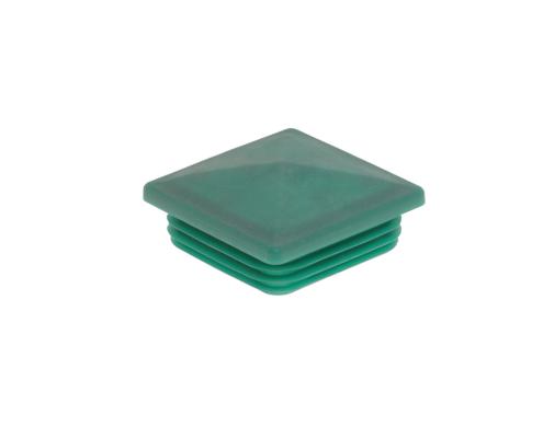 Pfosten Zubehör - Kunststoff Pfostenkappe 80x80 moosgrün