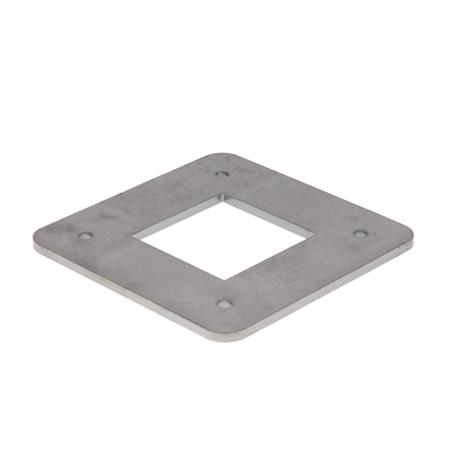 Camas Sonstiges Zubehör - Fußplatte Stahl
