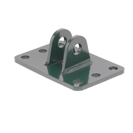 Camas Tor Zubehör - Wandmontageplatte (Industrietor) moosgrün