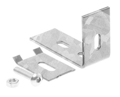Camas Verbindungs Zubehör - Wandanschlusswinkelset verzinkt