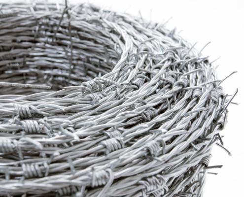 Camas Verbindungs Zubehör - Stacheldraht Detail